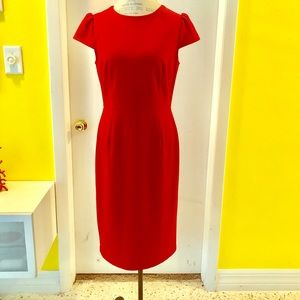 Red Betsy Johnson dress